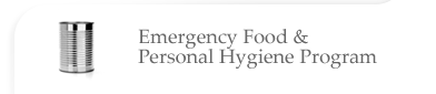 Emergency Food & Personal Hygiene Program